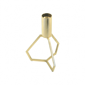 TRIPOD small BRASS lysestage messing